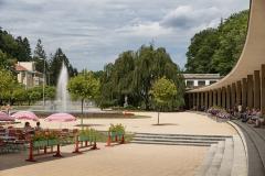 Lázeňské náměstí a kolonáda
